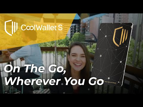CoolWallet S - On The Go, Wherever You Go