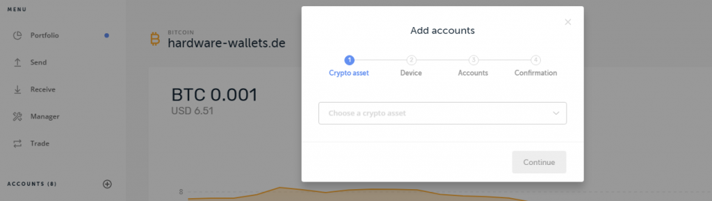 Ledger Live Add Account