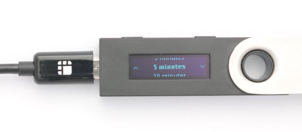 Ledger Nano S Auto Lock