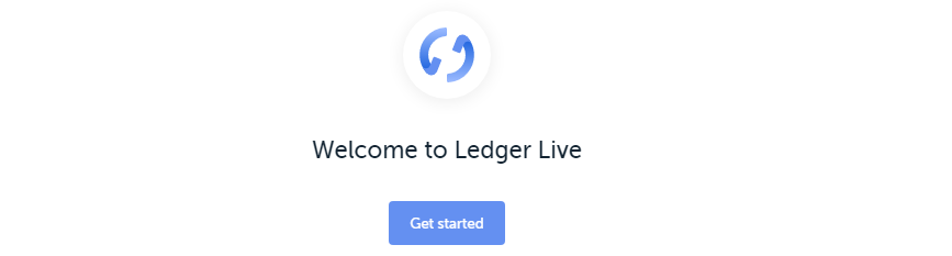 Ledger Live Get Started