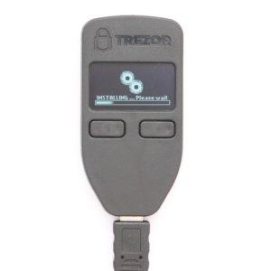 Trezor Wallet Firmware Installation durchführen