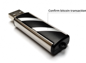 Secalot Bitcoin Transaktion