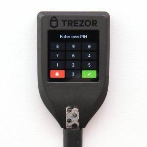 TREZOR T neuen Pin festlegen