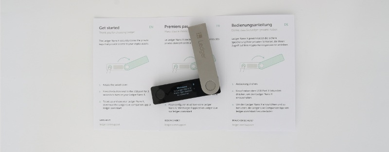 Ledger Nano X facility