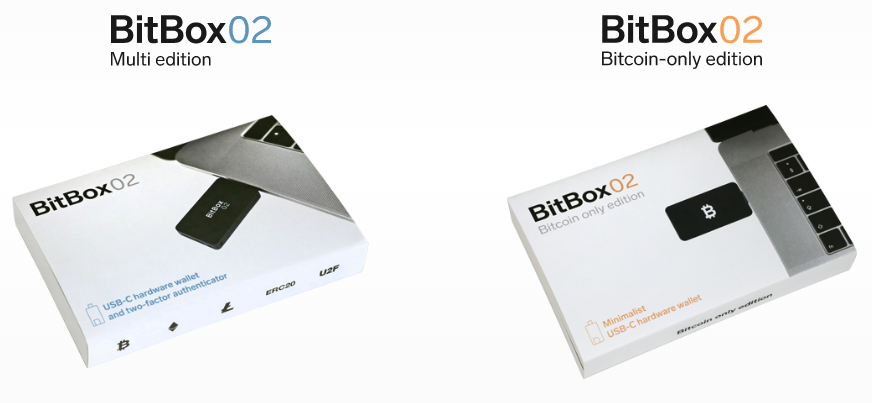 Bitbox02 Two Editions