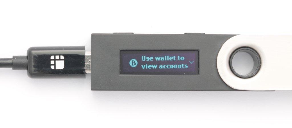Ledger Nano S Bitcoin App starten