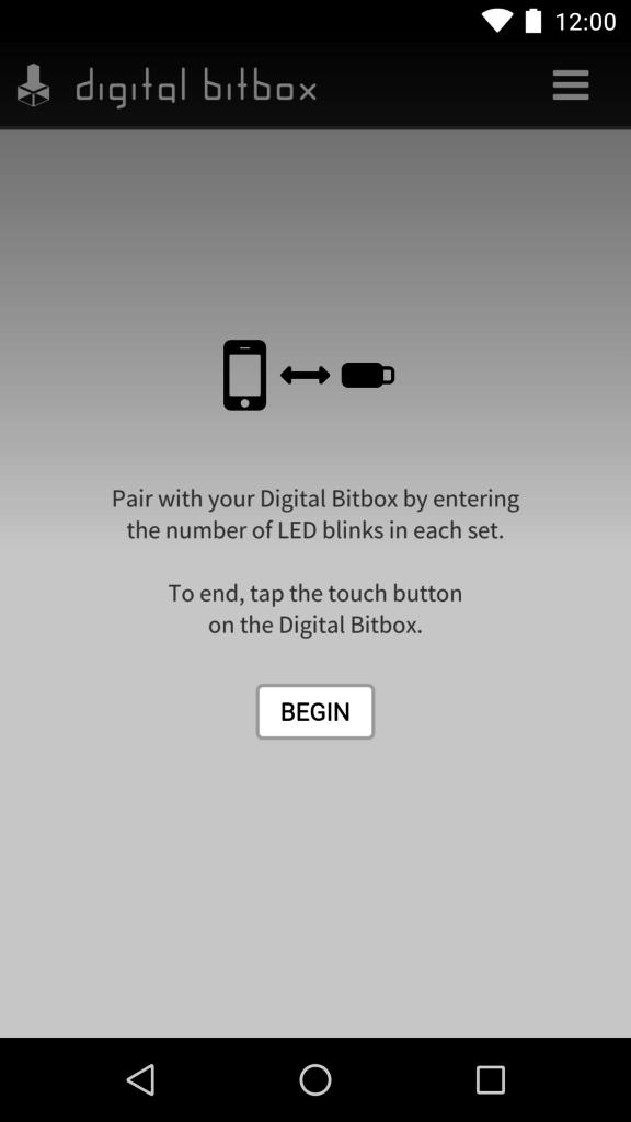Digital Bitbox App Verbindung Pairing Android 2