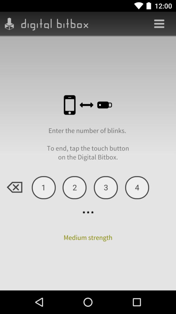 Digital Bitbox App Verbindung Pairing Android 3