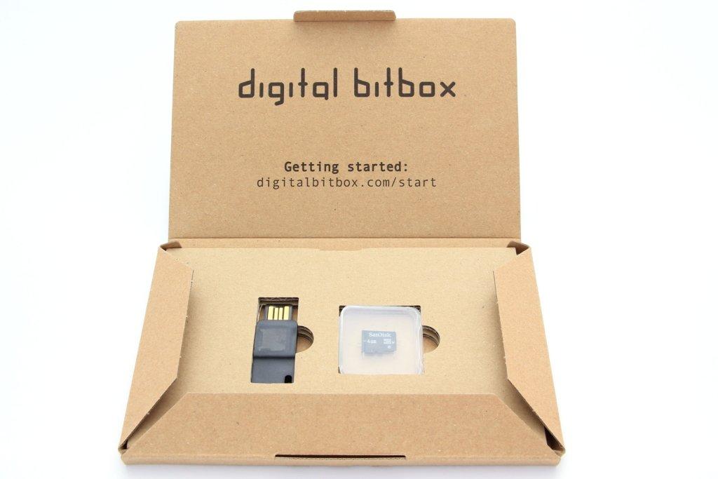 Digital Bitbox geöffnete Verpackung