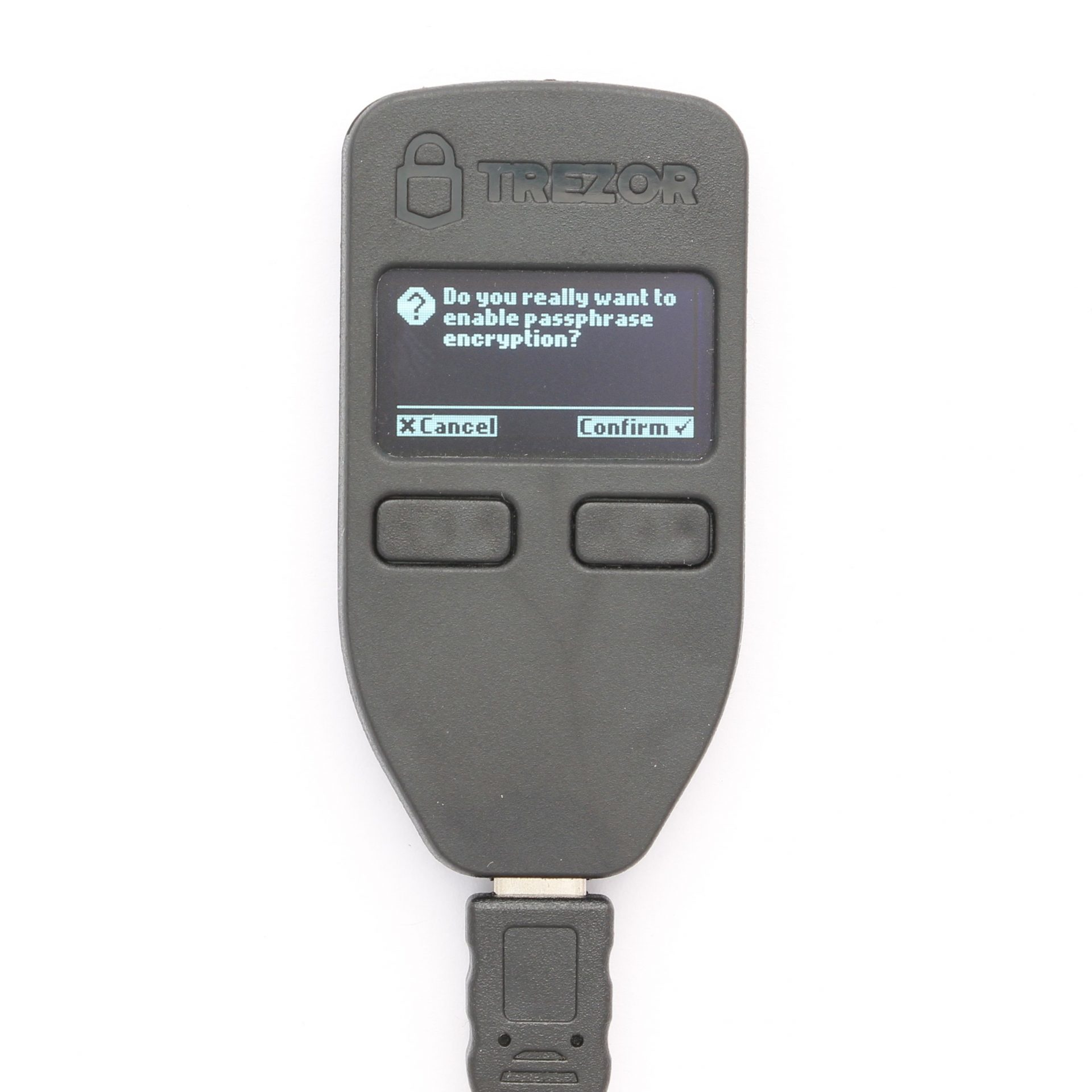 Trezor Enable Passphrase