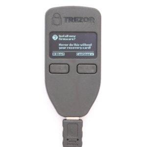 Trezor Wallet Firmware Installation zustimmen