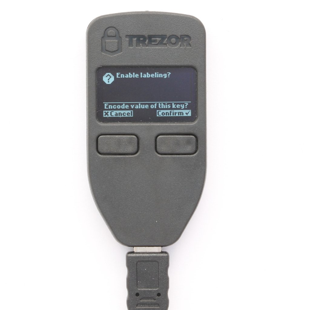 Trezor mit Dropbox Hardware Wallets