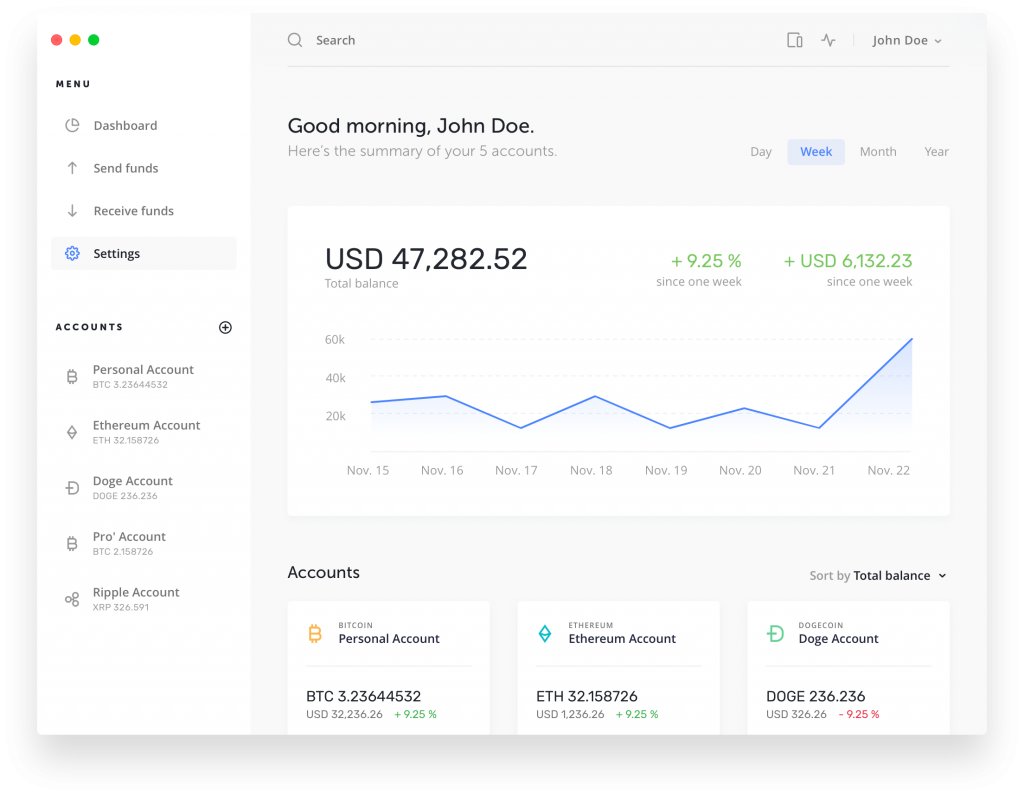 Ledger App Dashboard