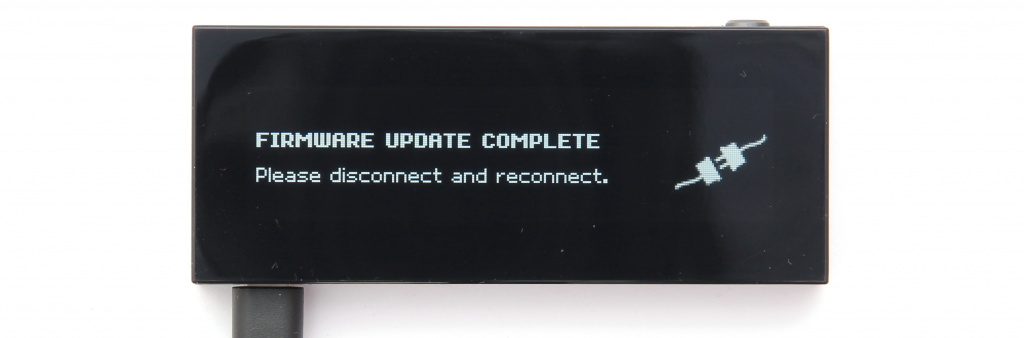 KeepKey Firmware Update Fertig